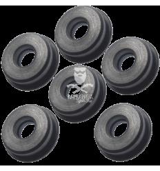 Boccole auto lubrificanti piene in acciaio da 8 mm (B8PA)