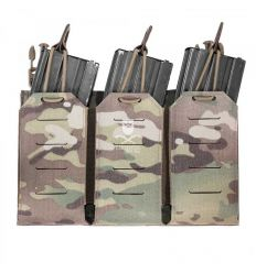Warrior Laser Cut Triple Bungee 5.56 Panel - MultiCam