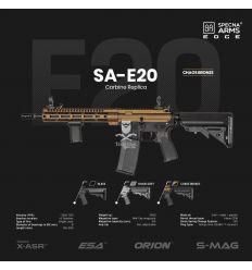 Fucile SA-E20 EDGE M4 Half/Bronze Specna Arms (SPE-01-027062)