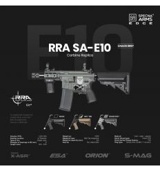Specna Arms RRA SA-E10 EDGE™ Carbine Replica - Chaos Grey - (SPE-01-026714)