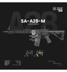 Specna Arms SA-A28-M ONE™ Carbine Replica - black - (SPE-01-026533)