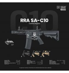 Specna Arms RRA SA-C10 CORE™ carbine replica - black - (SPE-01-025622)