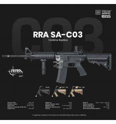 Specta Arms RRA SA-C03 CORE™ carbine replica - black - (SPE-01-025611)
