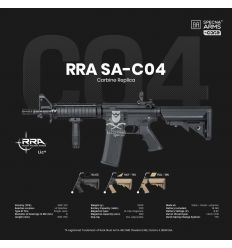 Specna Arms RRA SA-C04 CORE™ carbine replica - black - (SPE-01-025613)