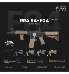 Specna Arms RRA SA-E04 EDGE™ Carbine Replica - Half-Tan - (SPE-01-023921)