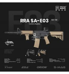Specna Arms SA-E03 EDGE™ RRA Carbine Replica - Half-Tan - (SPE-01-023919)