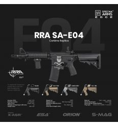 Specna Arms RRA SA-E04 EDGE™ Carbine Replica - black - (SPE-01-023920)