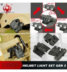 Gen III Helmet Light - Black