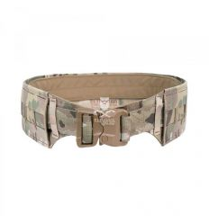 Warrior Low Profile Laser Belt with Polymer Cobra Belt - MultiCam