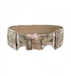 Warrior Low Profile Laser Belt with Polymer Cobra Belt - MultiCam