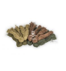 Ghillie Fiber Yarns - Woodland