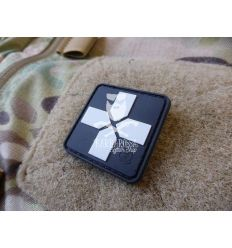 Patch Swat Cross Rubber 40mm
