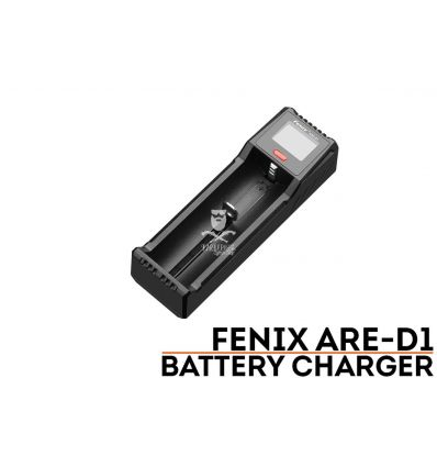FENIX ARE-D1 Carica Batterie Singolo al litio
