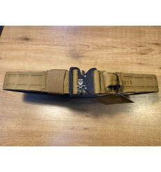 SR - Modular Shooting Belt Laser Cut - Coyote Brown