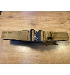 SR - Modular Shooting Belt Laser Cut - Coyote Brown