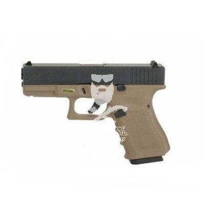 Glock 19 WE GBB tan gen.4