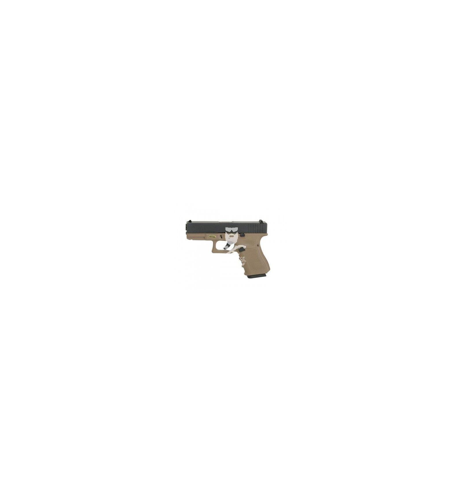 Glock 19 WE GBB tan gen.4