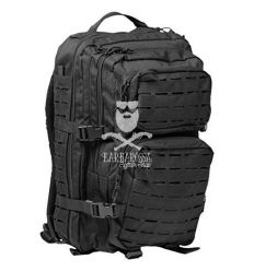 US Assault Pack Laser Cut Large - Black