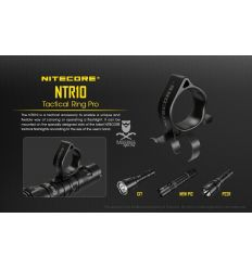 Nitecore - NTR10 - Tactical Ring Pro per torce a led