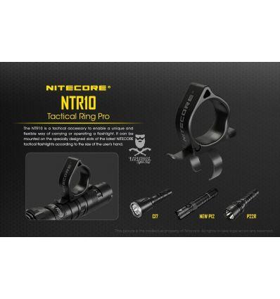 Nitecore - NTR10 - Tactical Ring Pro per torce a led