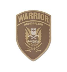 Patch Logo Shield Dark Earth - Warrior