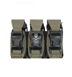 Triple 40mm Flash Bang Pouch – Ranger Green