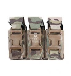 Warrior Triple 40mm Flash Bang Pouch – MultiCam