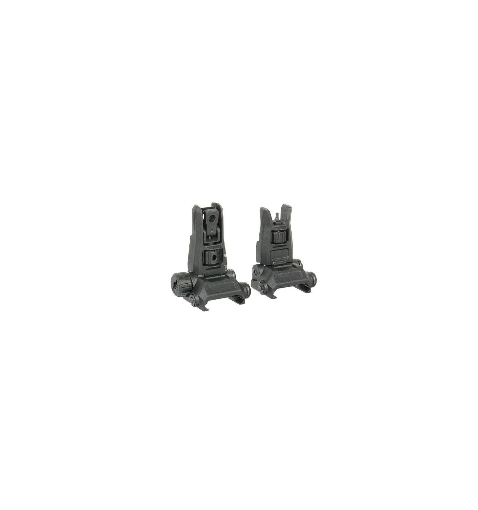 Tacche di Mira MBUS 2 Polimero Replica - Black