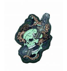 Patch Skull Snake