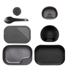 BUSHCRAFT - Wildo CAMP-A-BOX® Complete - Black/Grey