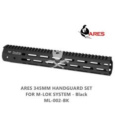 ARES 345mm Handguard Set for M-Lok System - Black
