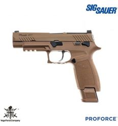 Pistola a GAS ProForce P320 M17 Dark Earth VFC Sig Sauer