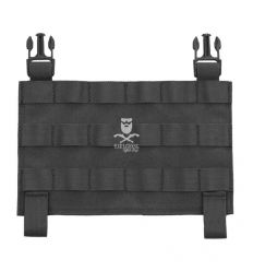 Warrior MOLLE Front Panel for Recon Plate Carrier - Black