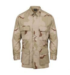 BDU Shirt - Cotton Ripstop - Desert 3 Colori - Helikon