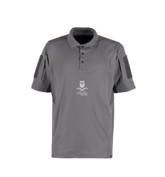 4-14 Performance Polo - Grey