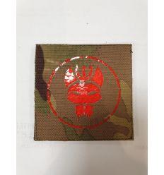 Patch Bravo Team - Multicam/Red