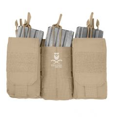Warrior Detachable Front Panel MK1 (3x 5.56 Mag Pouches and 2 Utility Pouches) - Coyote Tan