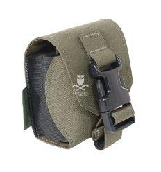 Warrior Laser Cut Frag Grenade Pouch - Ranger Green