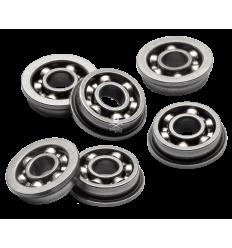 Boccole in Acciaio da 8 mm Cuscinettate Aperte Prodotte Appositamente per Sopportare Sollecitazioni Estreme (B8CA+)