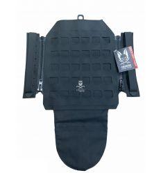 Warrior Laser Cut Assaulters Back Panel – Black