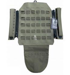 Warrior Laser Cut Assaulters Back Panel – Ranger Green