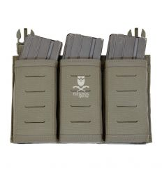 Warrior Laser Cut Detachable Triple Snap Mag Panel – Ranger Green