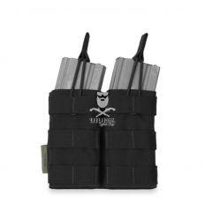 Warrior Double Open 5.56mm - Black