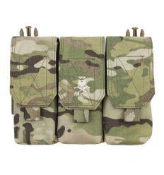 Warrior Detachable Triple Covered M4 Pouch – Multicam