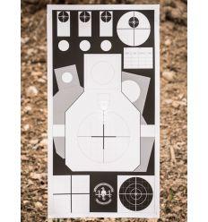 4-14 Skill Target - 1pz