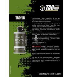 TAGINN - Airsoft Pyrotechnics TAG-18 Fumogena - Bianco