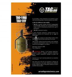 Airsoft Pyrotechnics TAG-19 Hand Grenade