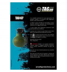 TAGINN - Airsoft Pyrotechnics TAG-67 Hand Grenade