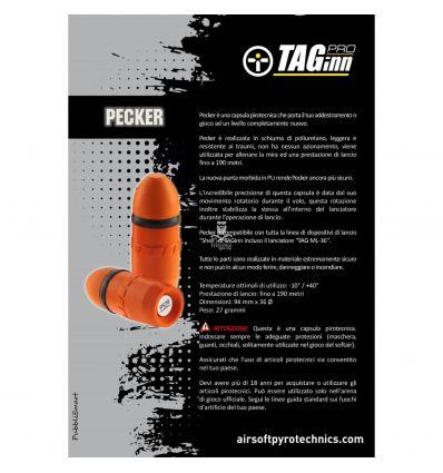 """TAGINN """"Pecker MK2"""" – Dummy projectile"""