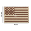 Patch USA Flag Desert - Clawgear